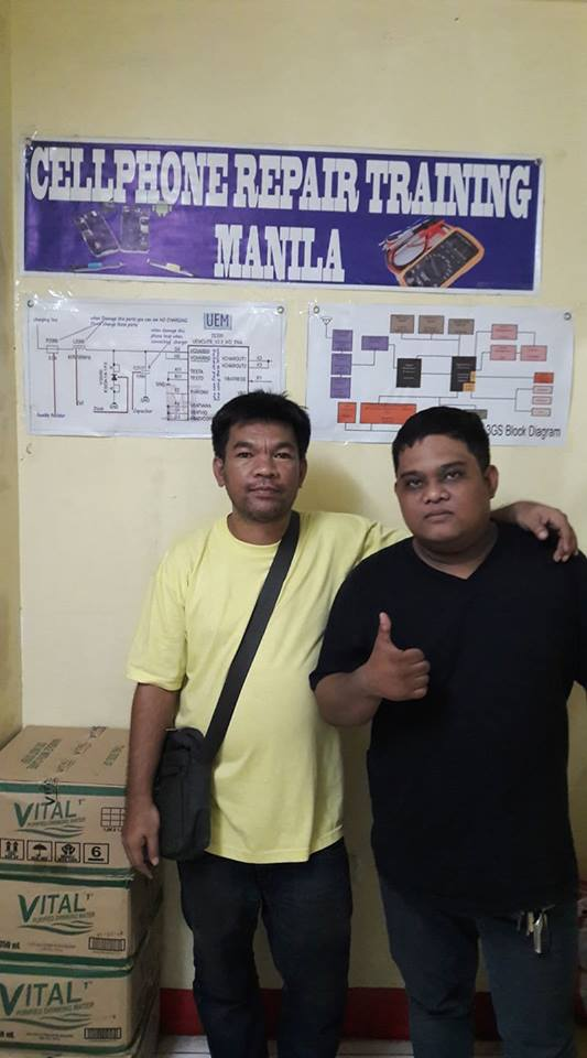 with our onsite traininee arvin sollano
