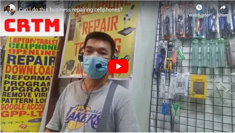 can i do this business repairing cellphones